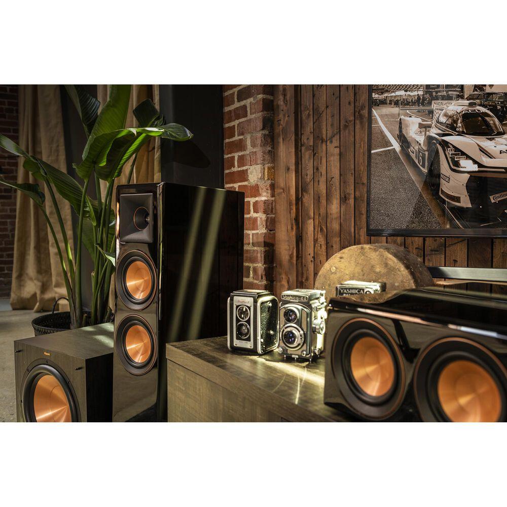 "Klipsch RP-6000F Dual 6.5"" Tower Floorstanding Speakers in Ebony + Subwoofer, , large"