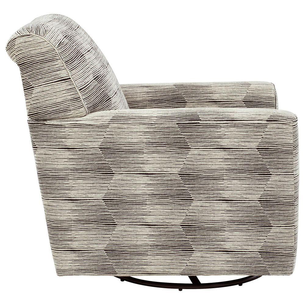 Signature Design by Ashley Callisburg Swivel Glider Accent Chair in Granite, , large