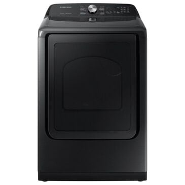 Samsung 7.4 Cu. Ft. Gas Dryer with Steam Sanitize in Black, , large