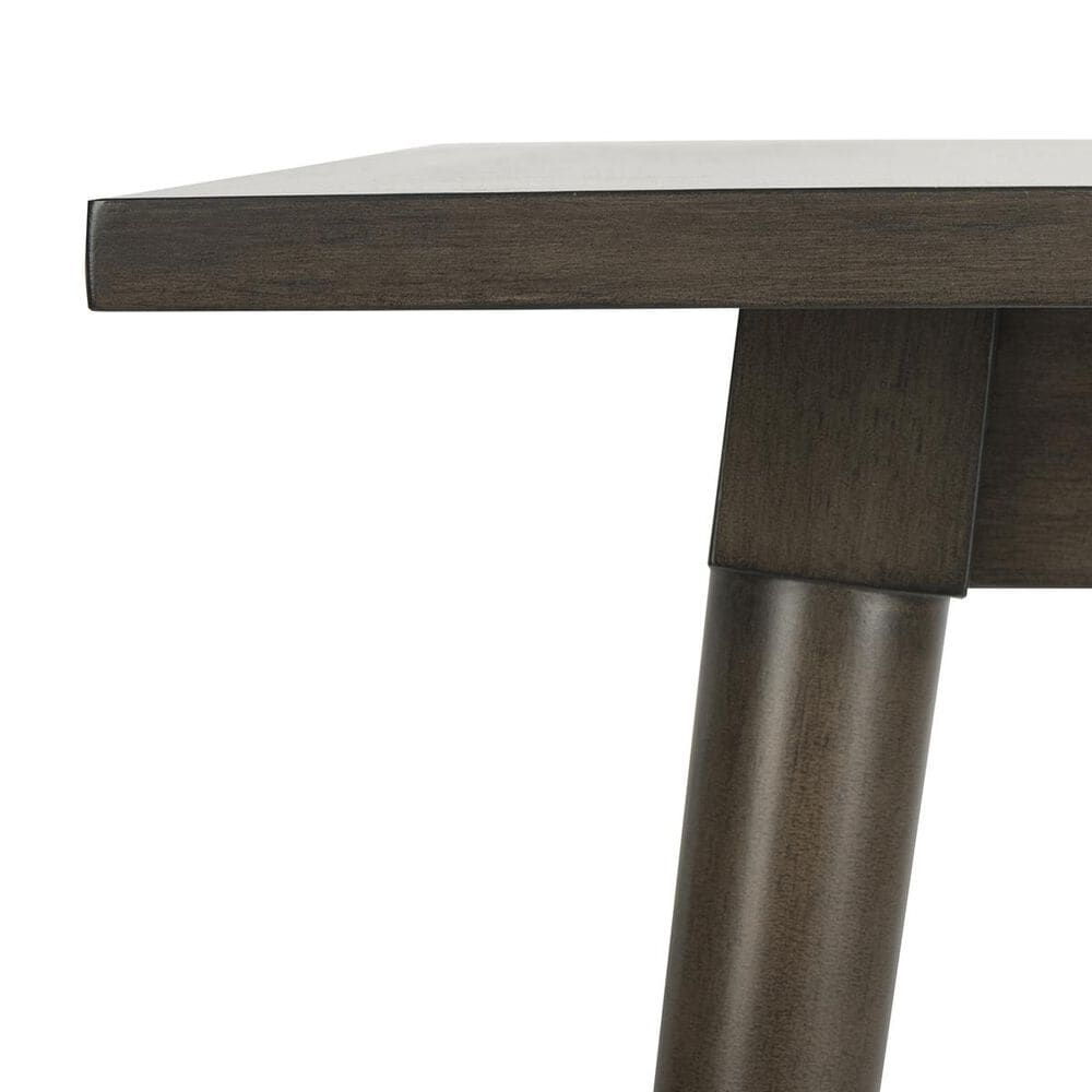 Safavieh Simone Square Dining Table in Grey Walnut - Table Only, , large