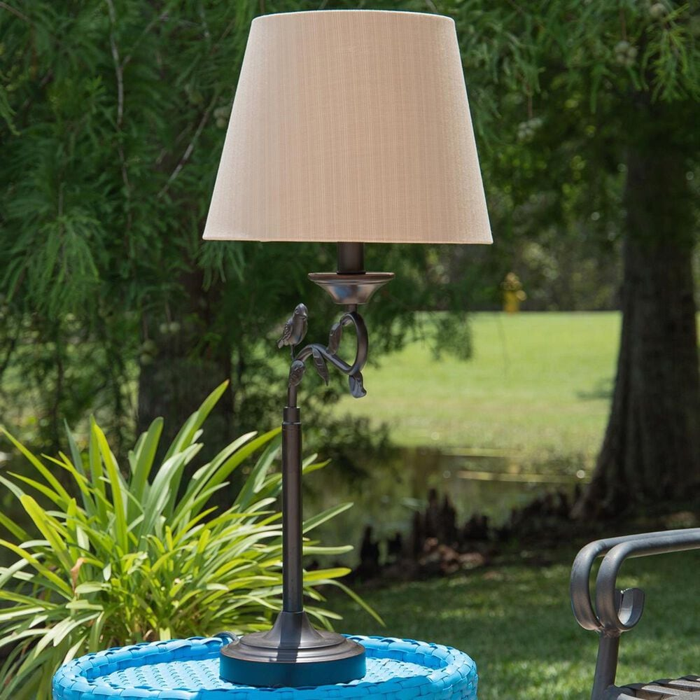 Kenroy Birdsong Outdoor Table Lamp in Oil Rubbed Bronze, , large