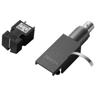 Denon MC Phono Cartridge with Premium Headshell in Silver Graphite, , large
