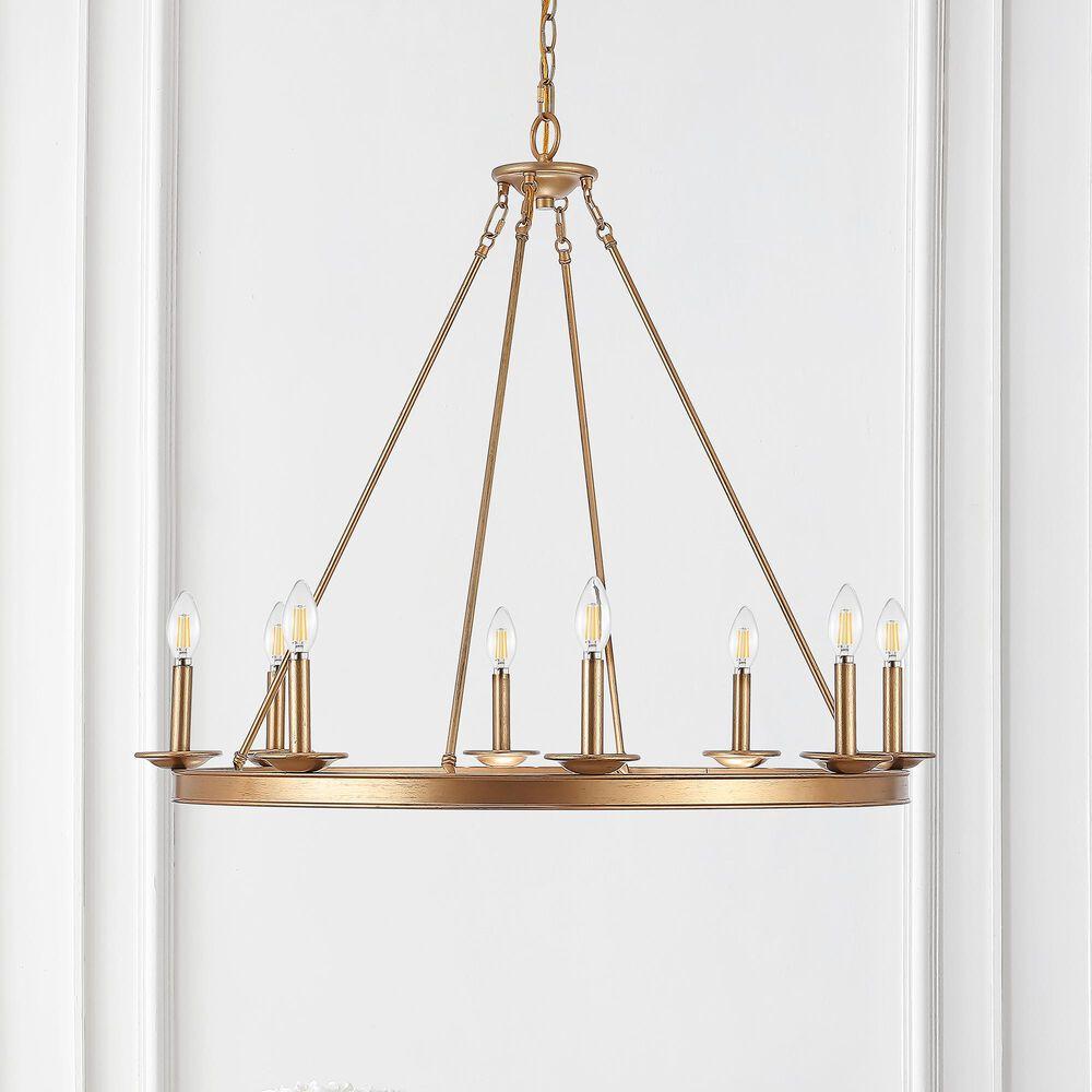 Safavieh Fauna 8-Light Chandelier in Gold, , large