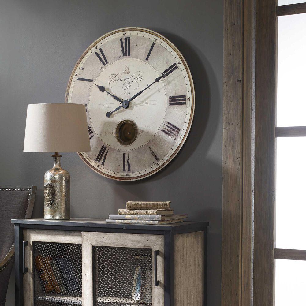 "Uttermost Harrison 30"" Clock, , large"