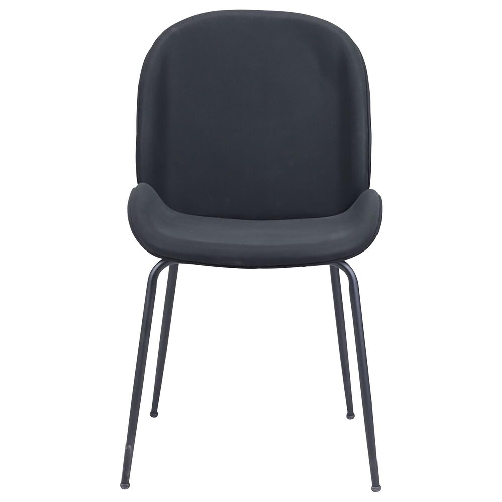 Zuo Modern Miles Dining Chair in Black, , large