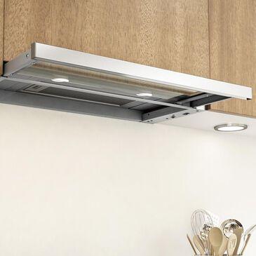 """Zephyr Pisa 30""""  Under-Cabinet Sliding Glass Range Hood in Stainless Steel, , large"""