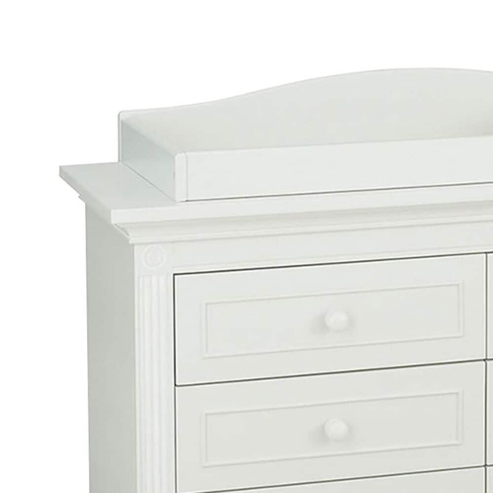 Munire Montana Dresser and Changing Station in Glazed White, , large