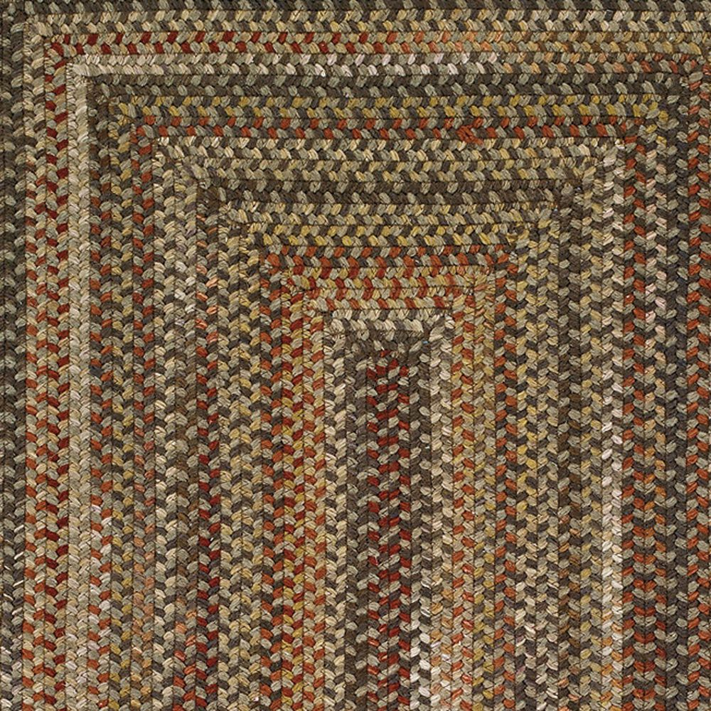 """Capel Homecoming 0048-700 9'6"""" Round Chestnut Brown Area Rug, , large"""