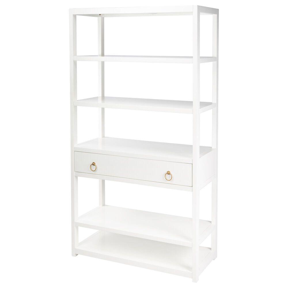 Butler Lark Bookshelf in White, , large