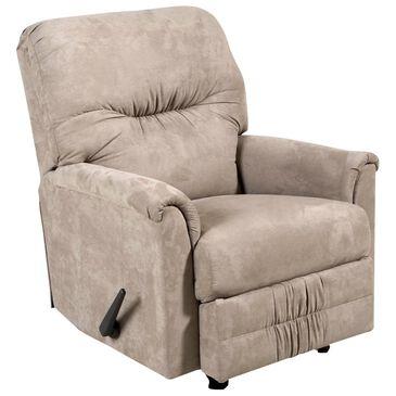 Hughes Furniture Rocker Recliner in Sienna Mocha, , large