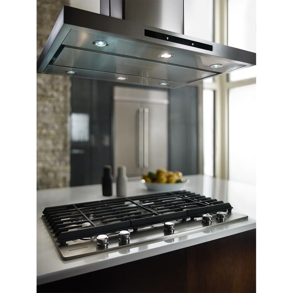 """KitchenAid 36"""" Island Canopy Hood in Stainless Steel, , large"""