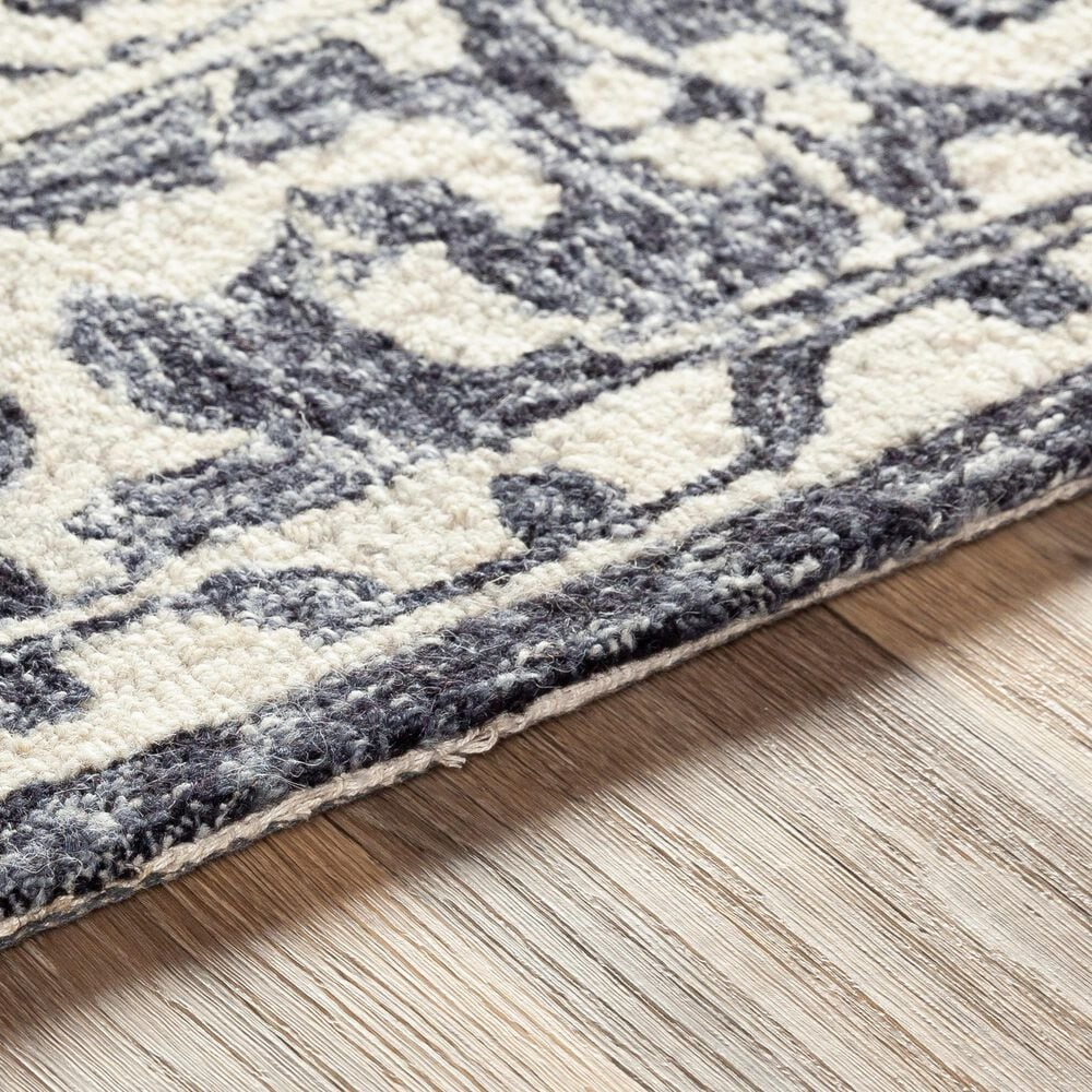 Surya Granada GND-2305 8' x 10' Black, Gray and Beige Area Rug, , large