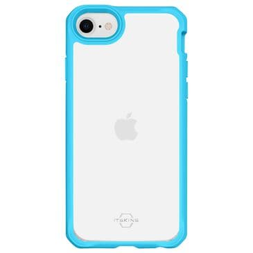 ITSkins Hybrid Solid Case for iPhone SE in Blue and Transparent, , large