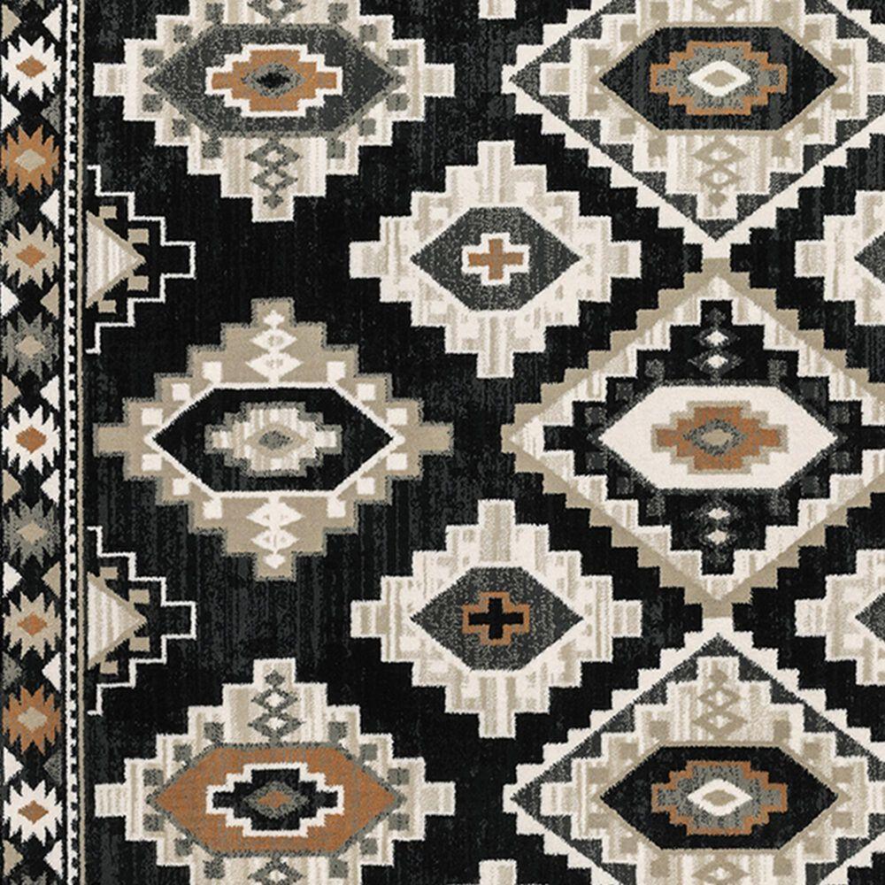 "Oriental Weavers Georgia Southwest 605F0 7'10"" x 10' Charcoal Area Rug, , large"