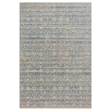 """Loloi Claire CLE-03 7'10"""" x 10'2"""" Ocean and Gold Area Rug, , large"""