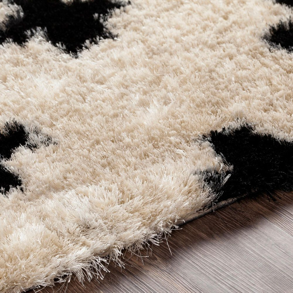 "Surya Gibraltar GIB-2302 5' x 7'6"" Cream and Black Area Rug, , large"