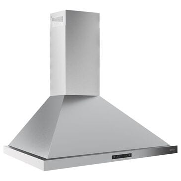 """Zephyr Core Series Ombra 30"""" Wall Mount Convertible Range Hood with Blower in Stainless Steel, , large"""