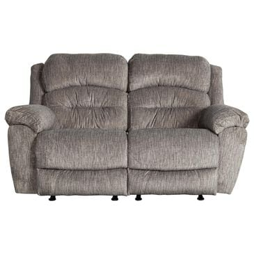 Moore Furniture Bellamy Rocking Recliner Loveseat in Cement, , large
