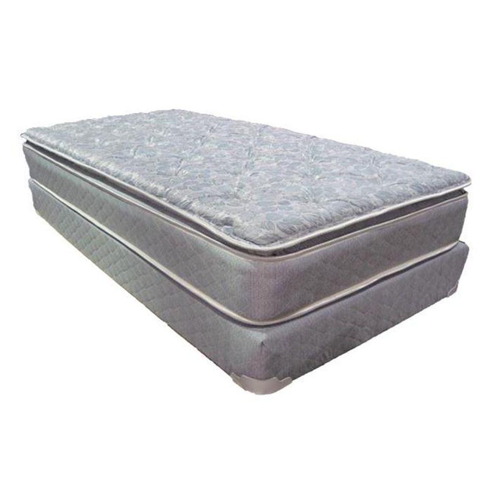 Omaha Bedding Slumberon Maxima Pillow Top Plush Twin Mattress Only, , large