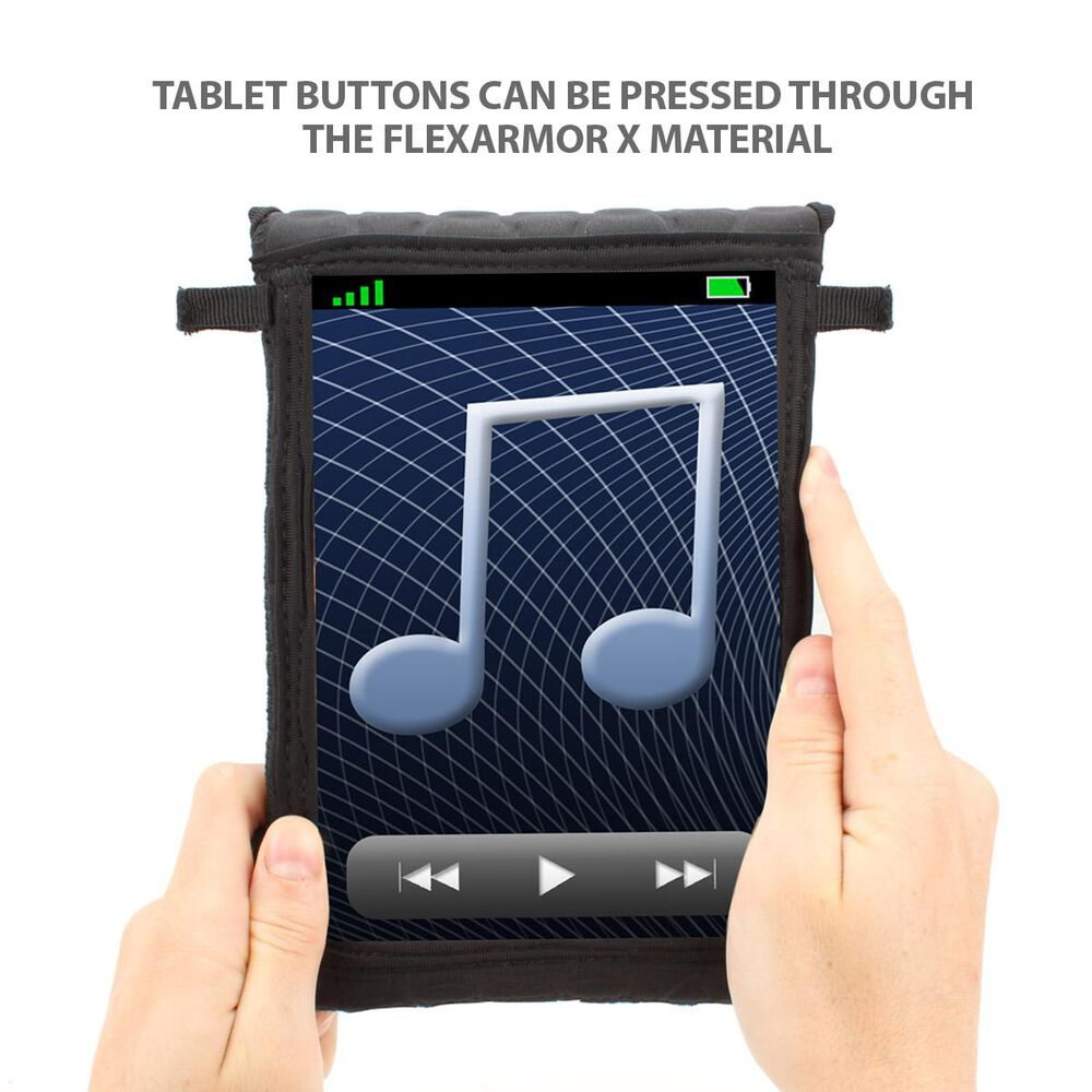 USA Gear Kid Proof Neoprene Tablet Case w/ Touch Capacitive Screen Protector, , large