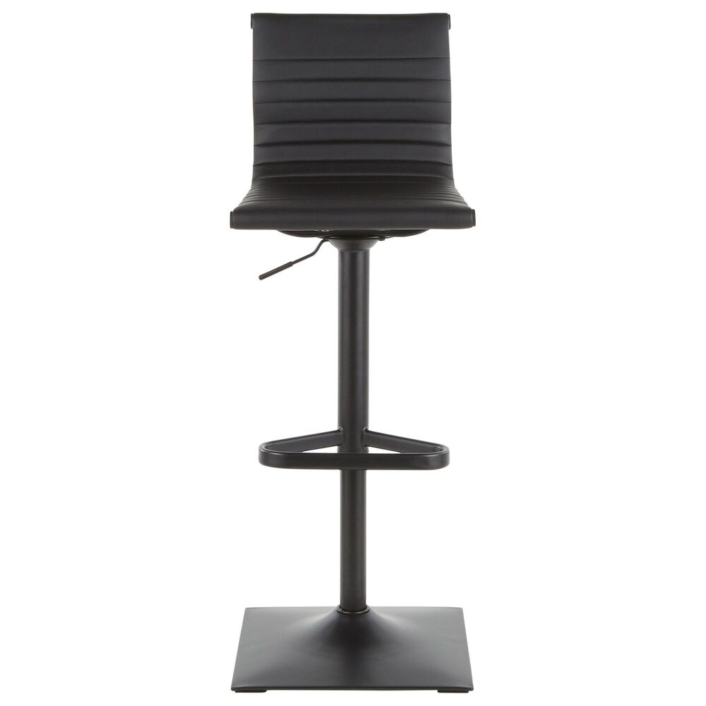 Lumisource Masters Barstool in Black/Black, , large