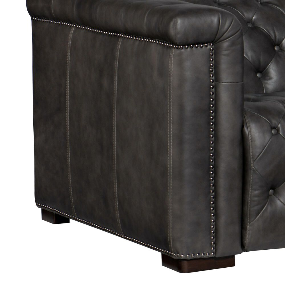 Hooker Furniture Savion Power Double Reclining Sofa with Headrest in Bellagio Gravel, , large