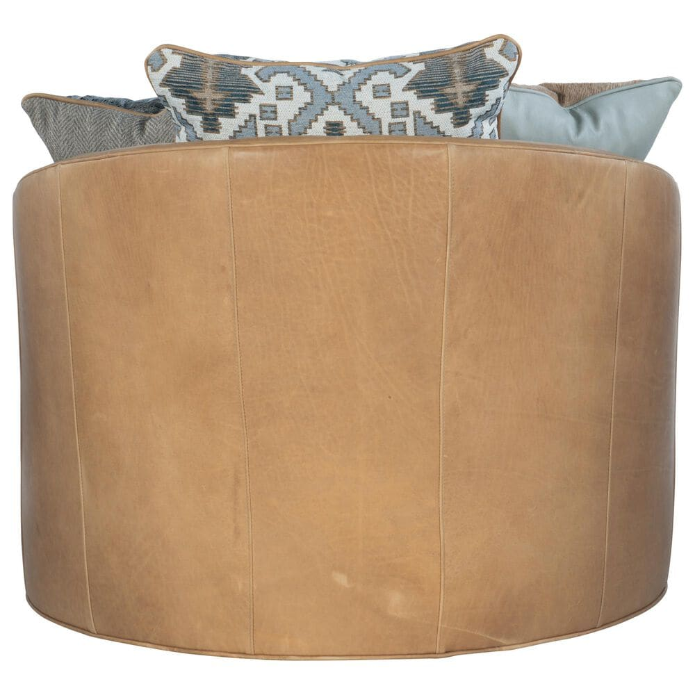 Bradington-Young Artemis Swivel Tub Chair in Taupe, , large