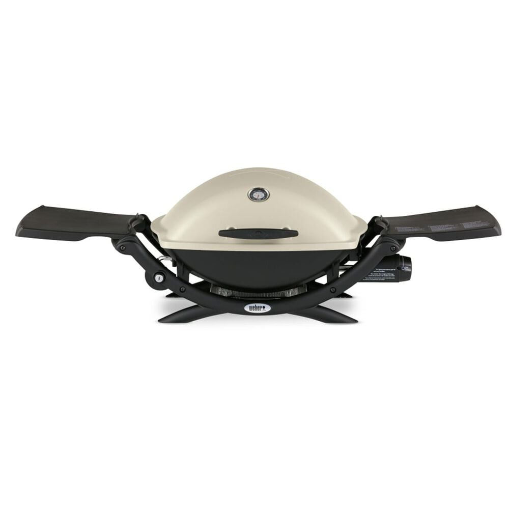 Weber Q 2200 Liquid Propane Grill in Beige and Black, , large