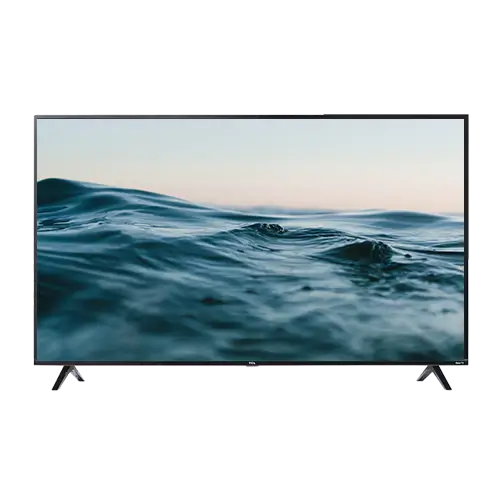 TV With Image of Water on Screen