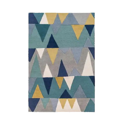 Surya Kennedy KDY-3012 5 ft x 7 ft 6 inches Bright Blue Area Rug