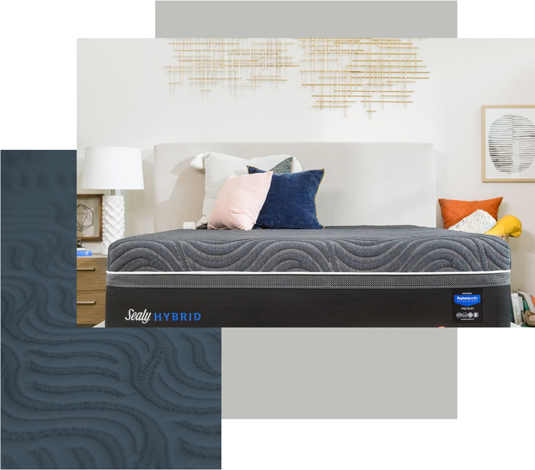 Sealy Hybrid Mattress Combines Innersprings and Memory Foam