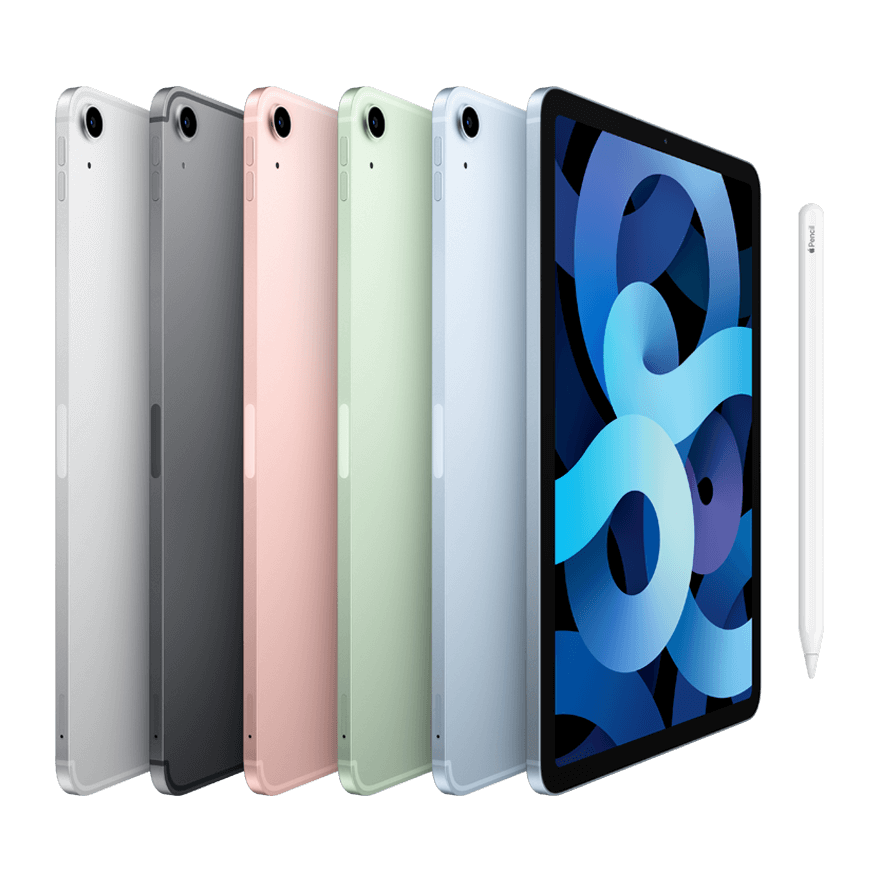 Apple iPad Air in variety of colors