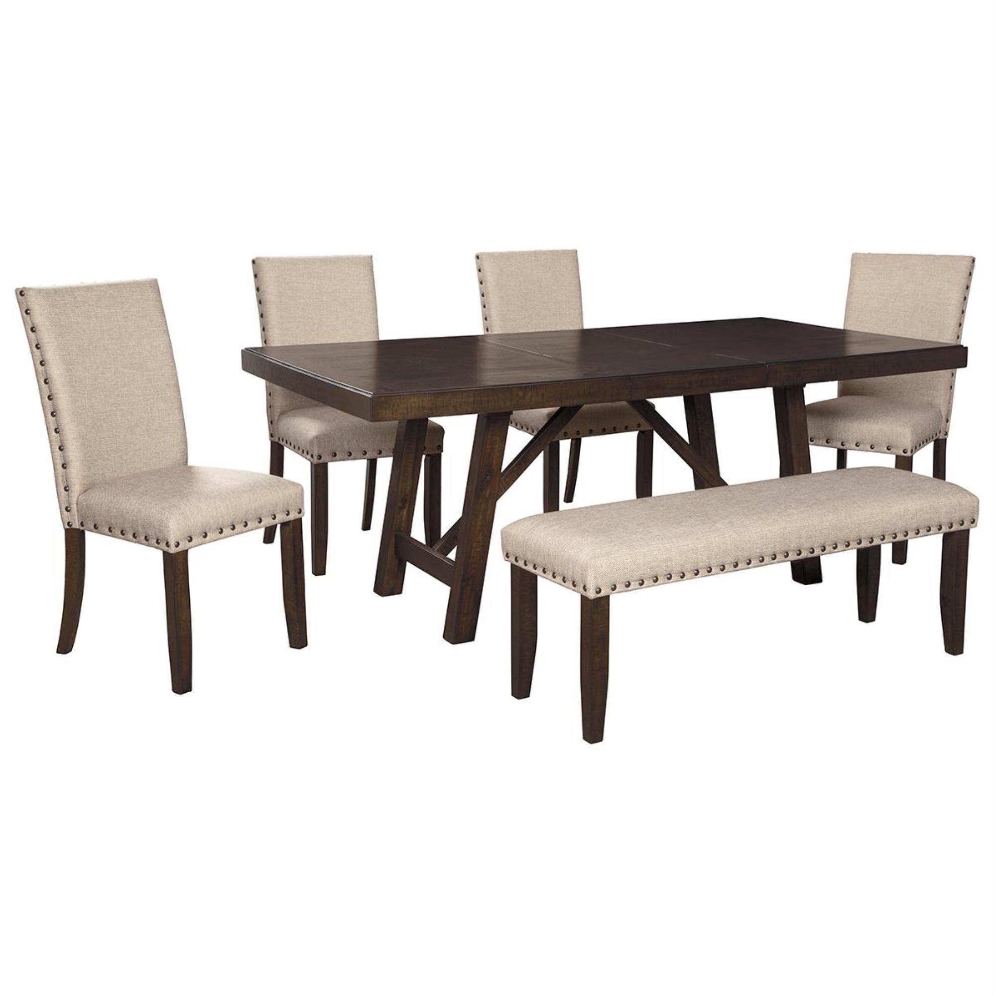 By Ashley Rokane 6 Piece Dining Set, 6 Piece Dining Room Set