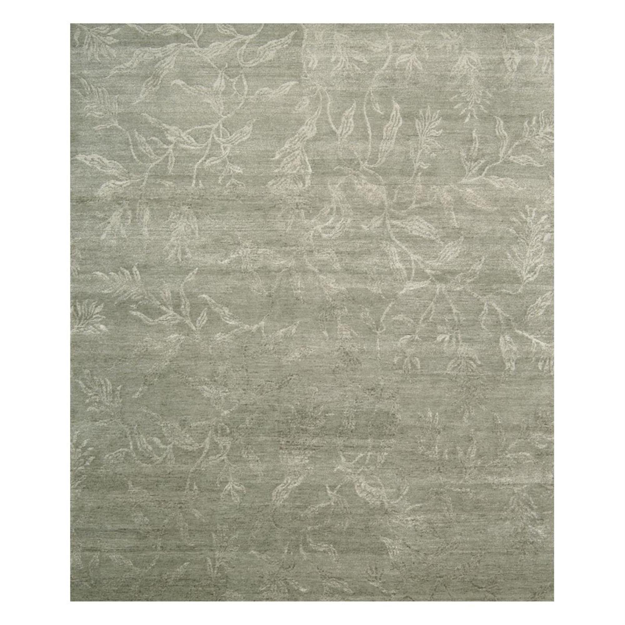 Nourison Silk Shadows Sha01 5 6 X 7 5 Light Green Area Rug Nebraska Furniture Mart